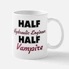 Half Hydraulic Engineer Half Vampire Mugs