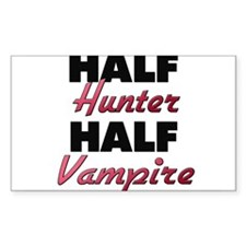 Half Hunter Half Vampire Decal