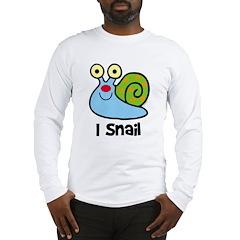 I Snail Long Sleeve T-Shirt