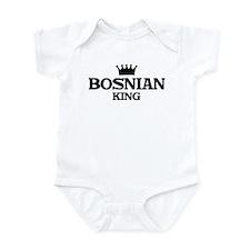 bosnian King Infant Bodysuit