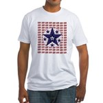 USA Patriotic Fitted T-shirt (Made in the USA)