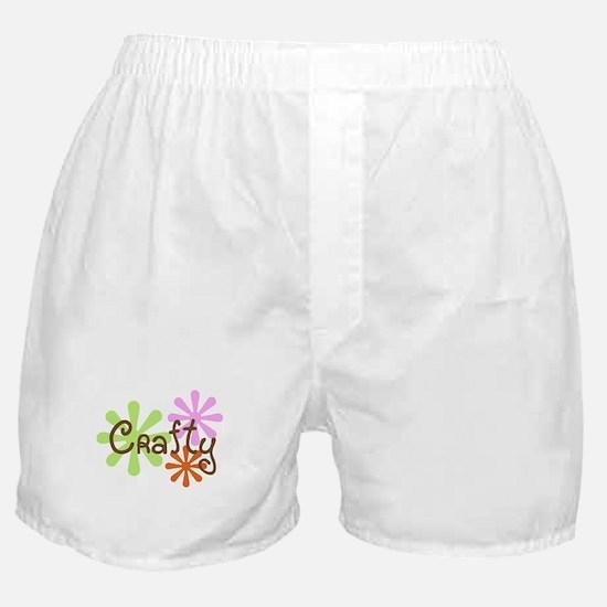 Crafty Boxer Shorts