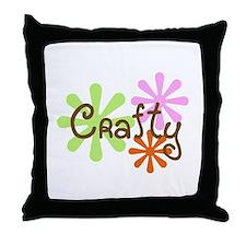 Crafty Throw Pillow