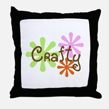 Crafty Throw Pillow