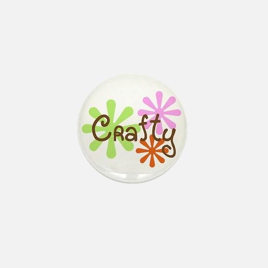 Crafty Mini Button
