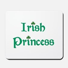 Irish Princess Green Mousepad