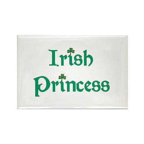 Irish Princess Green Rectangle Magnet (100 pack)