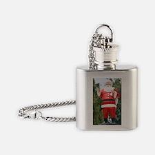 SantaClaus001a Flask Necklace