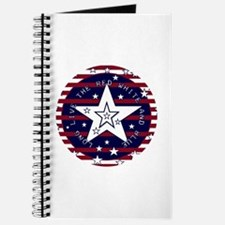 Red White and Blue Patriotic Journal