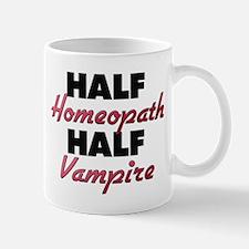 Half Homeopath Half Vampire Mugs