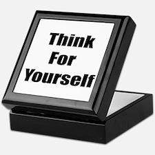Cool Free thinking Keepsake Box