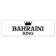 bahraini King Bumper Bumper Sticker