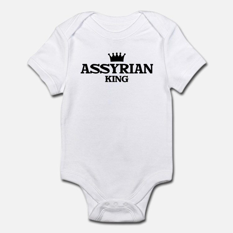 assyrian King Infant Bodysuit