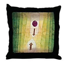 Paul Klee - Before the Blitz Throw Pillow