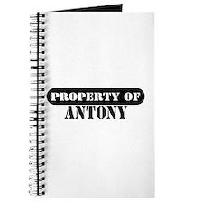 Property of Antony Journal
