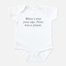 Pluto was a Planet Infant Bodysuit