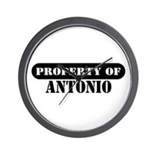 Property of Antonio Wall Clock