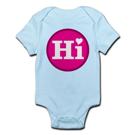 Heart Hawaii Hi Candy Pink Body Suit