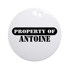 Property of Antoine Ornament (Round)