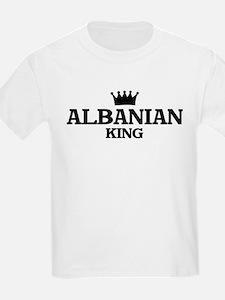 albanian King Kids T-Shirt