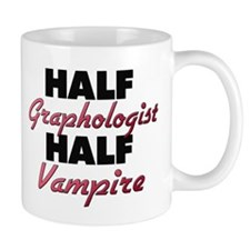 Half Graphologist Half Vampire Mugs