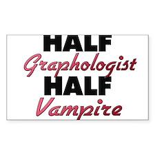Half Graphologist Half Vampire Decal