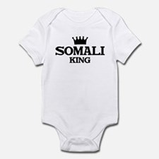 somali King Infant Bodysuit