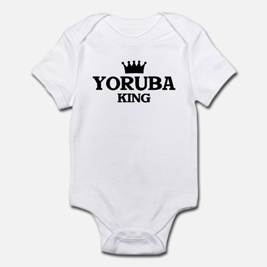 yoruba King Infant Bodysuit