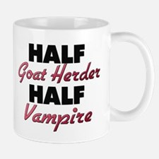 Half Goat Herder Half Vampire Mugs