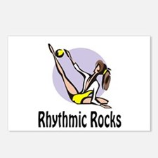 "RhythmicChick ""Rocks"" Postcards (Package of 8)"