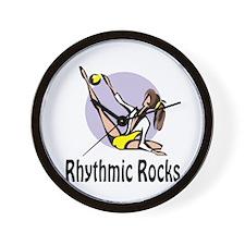 """RhythmicChick """"Rocks"""" Wall Clock"""