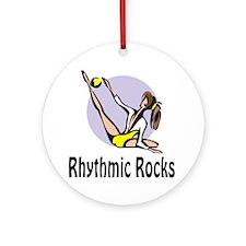 "RhythmicChick ""Rocks"" Ornament (Round)"