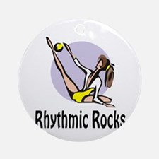 "RhythmicChick ""Rocks"" Ornament (Round)"