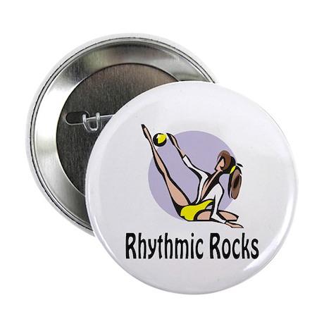 "RhythmicChick ""Rocks"" 2.25"" Button (10 pack)"