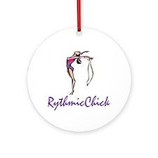RhythmicChick Ornament (Round)