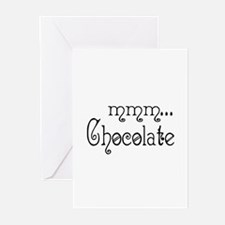 mmm... Chocolate Greeting Cards (Pk of 10)