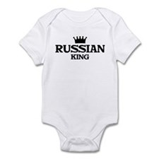 russian King Infant Bodysuit