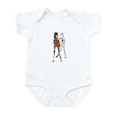 Appaloosa Foal Infant Bodysuit