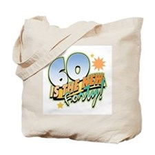 60 New Forty Tote Bag
