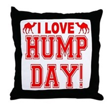 Hump Day Throw Pillow