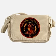 Girl on Fire Messenger Bag