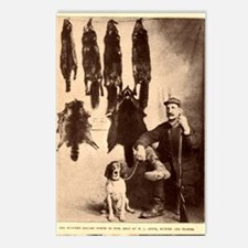Coon Hunter Postcards (Package of 8)