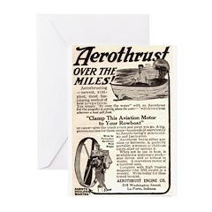 1916 Aerothrust Greeting Cards (Pk of 10)