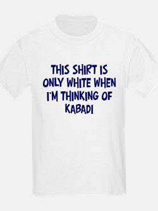 Thinking About Kabadi Kids T-Shirt