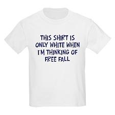 Thinking About Free Fall Kids T-Shirt
