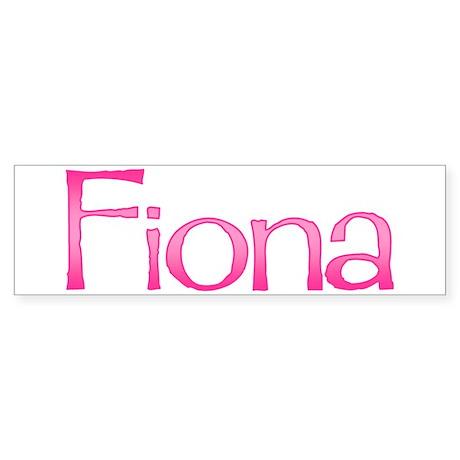 Fiona Bumper Sticker