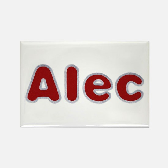 Alec Santa Fur Rectangle Magnet