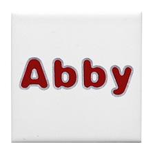 Abby Santa Fur Tile Coaster