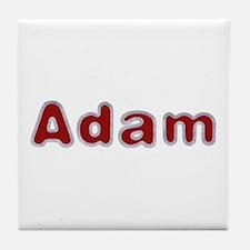 Adam Santa Fur Tile Coaster