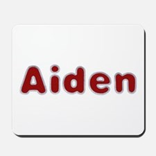 Aiden Santa Fur Mousepad